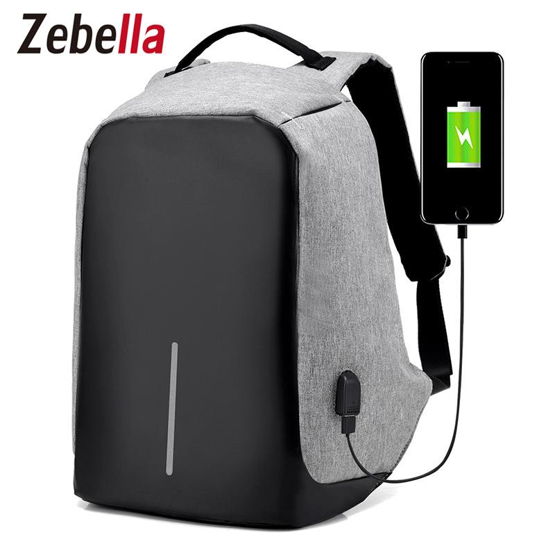 USB Charging plus Anti-theft Male Backpacks