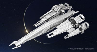 Mass effect : 3D Metal Model DIY kit