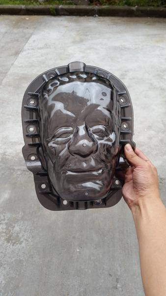 Frankenstein Pumpkin Mold