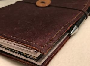 My wife makes awesome leather journals!