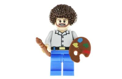 Calm Bearded Tree Enthusiast Painter Dude Minifigure