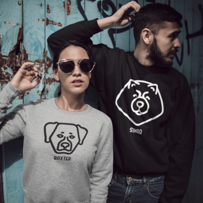 Personalized apparel for dog owners and lovers