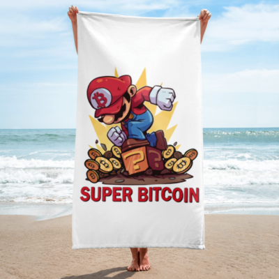 Super Bitcoin Towel!