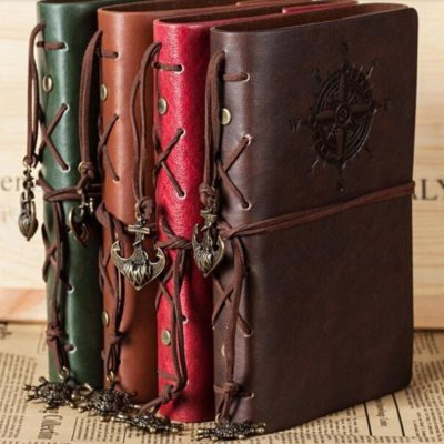 Leather Naval Themed Notepad (Pirates of the Caribbean lookalike)