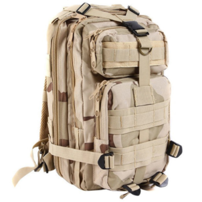 OUTDOOR ADJUSTABLE MILITARY TACTIC BACKPACK FOR HUNTING, HIKING OR TRAVEL – 9 COLORS