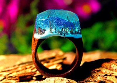 SnowFall Magic Ring