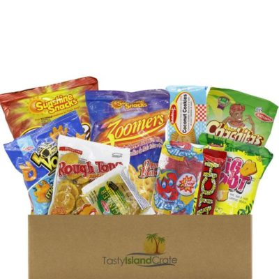 Snacks From Jamaica, Trinidad, Barbados and Dominican Republic – Caribbean Snack Crate
