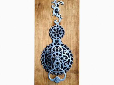 Hand forged door knocker. Your front door design describes the character of your home. It is the first impression you give to your visitors.