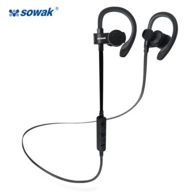 Noise Cancelling Sweat Proof Wireless Bluetooth Headsets only $18.50 w/ Free Shipping