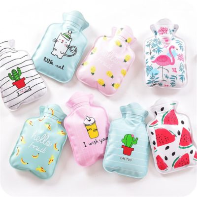 Cute Mini Hot Water Bottles Cartoon Hand Warmer