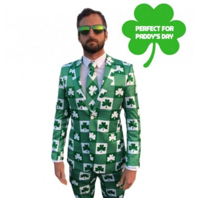 Irish St Patrick's Day Business Suit
