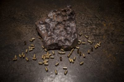"$4.5 million ""iron meteorite"" Big Bang Pistol Set"
