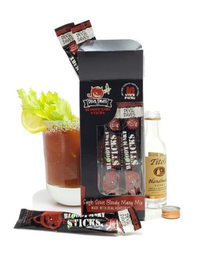 Instant Bloody Mary Stick Pack – Make one by the glass with just Tomato Juice and spirits!