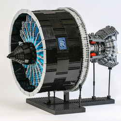 Lego Rolls Royce Turbofan Engine