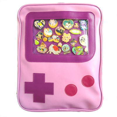 Game Girl Windowed Pin Bag (ita bag) | Stami Studios