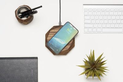 Wireless charger – Probably the most unique charger out there!