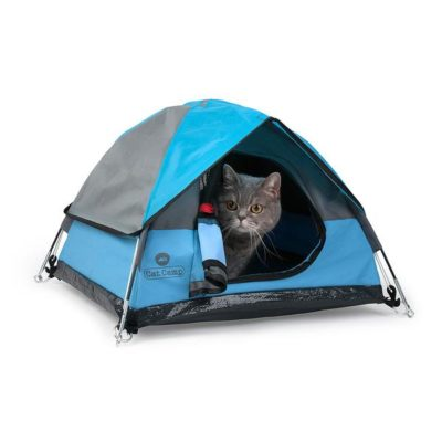 Tiny Tents for Cats – as adorable as it sounds