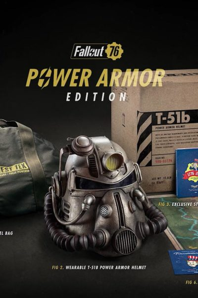 Fallout 76 power armor edition pre-order