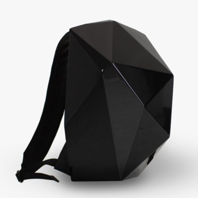 The One backpack – A backpack with a changeable shell and a crazy geometric design