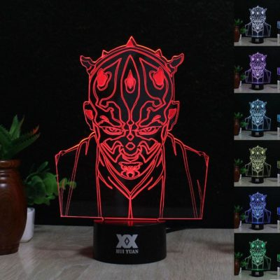 Star Wars Holographic Acrylic Lamp
