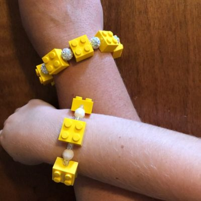 Mommy and Me LEGO Bracelets
