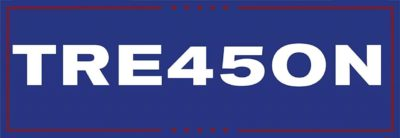 TRE45SON Trump Bumper Sticker