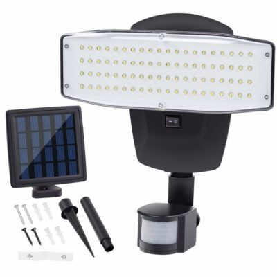 Solar Lights Outdoor 80LED