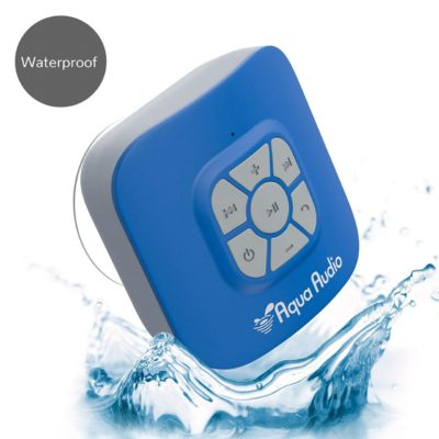 AquaAudio Cubo – Portable Waterproof Bluetooth Speaker with Suction Cup for Showers