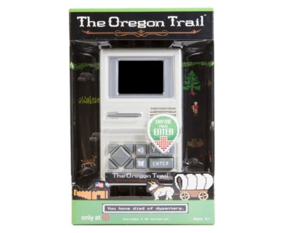 Oregon Trail electronic handheld game
