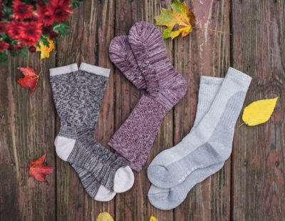 Bear Feet Premium Merino Wool Socks Bundle – Great Gift for the outdoorsy!