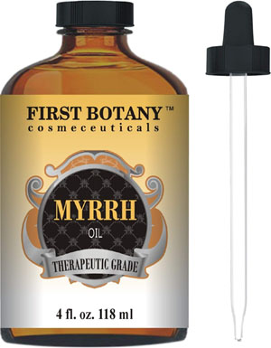 Myrrh Oil 4 fl. oz. With a Glass Dropper – Best Quality