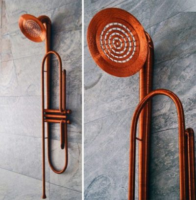 Jazz Shower – Trumpet-shaped showerhead