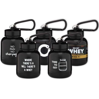 OnMyWhey Protein/Supplement Keychain Bottle Funnel