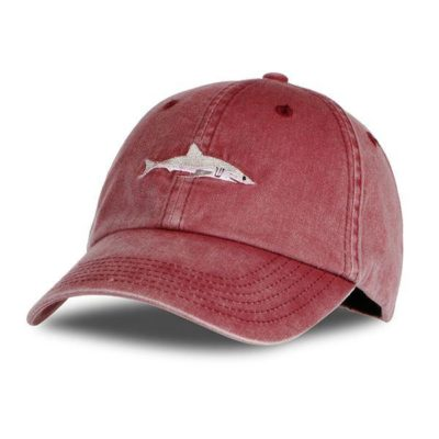 Shark Embroidery Dad Hat