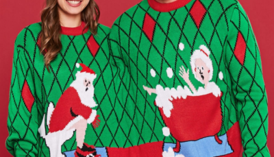Xmas Two Person Ugly Ssweater