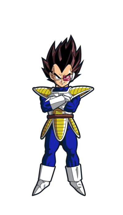 "Vegeta ""Over 9000"" FiGPiN"