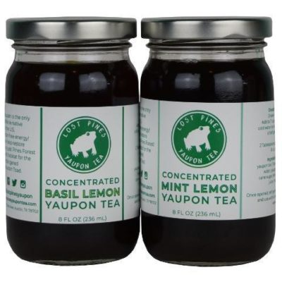Tea concentrate from the only Caffeinated plant native to N. America (makes 1/2 gallon) – Lost Pines Yaupon Tea