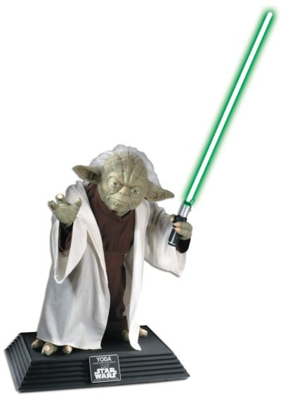 Collector's Edition – Life Size Yoda Statue Magical Emporium
