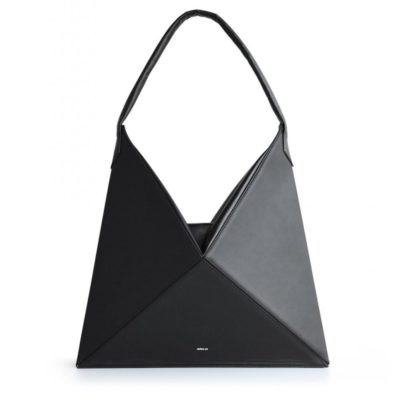 Minimalist Origami Inspired Shoulder Bag