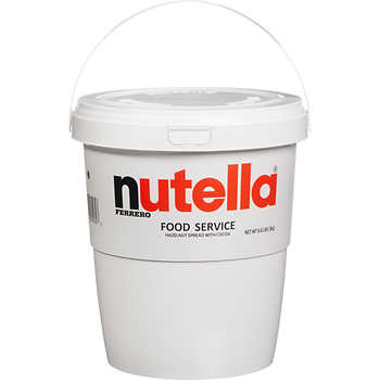 Nutella Hazelnut Spread with Cocoa, 6.6 lbs. container