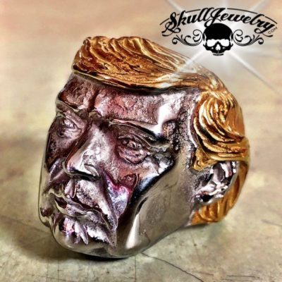 Donald Trump – Big, Bold and Heavy Stainless Steel Ring