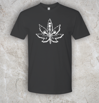Automotive Cannabis tee