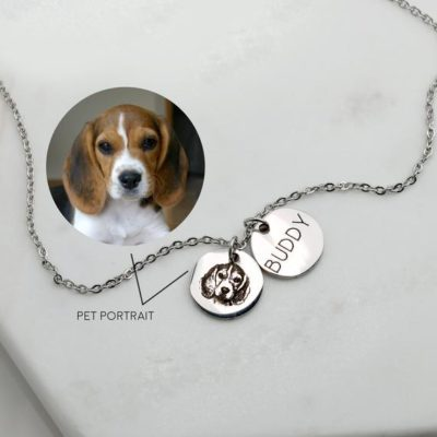 Custom Portrait Personalized Gift For Dogs & Cats