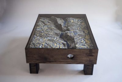 Yosemite Valley 3D Coffee Table