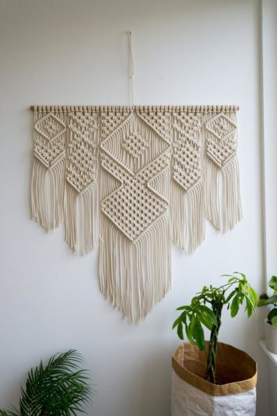Revival of the 70's | Macrame wall hanging | 40″ x 40″