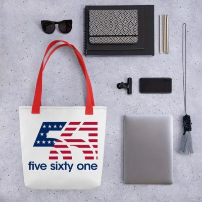 Five Sixty One Limited Edition America Hats, Bag, & Cropped Tee