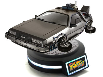 DeLorean Toy | Magnetic Levitating DeLorean | BigBadToyStore