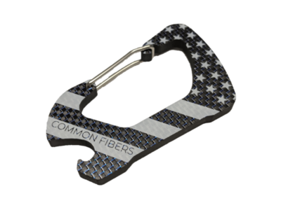 Carbon Fiber USA Carabiner Bottle Opener
