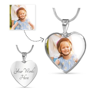Personalized Photo necklaces. Create your own
