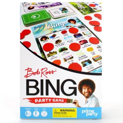 This [holy] Bob Ross bingo game